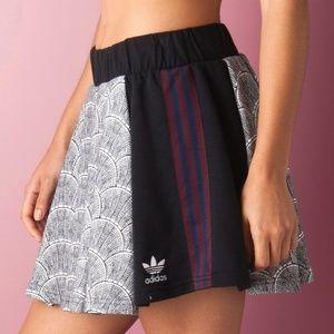 ADIDAS Women's AZ4946 Shell Tile PLEATED Skirt